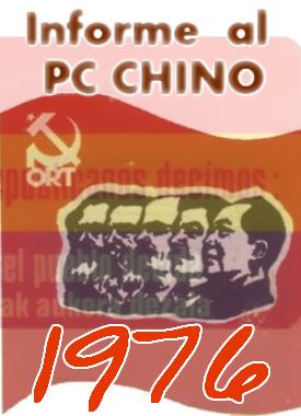 EInforme Año 1976 para el PC Chino
